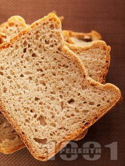 Ръжен хляб за хлебопекарна - снимка на рецептата